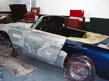 DB5 Convertible Restoration