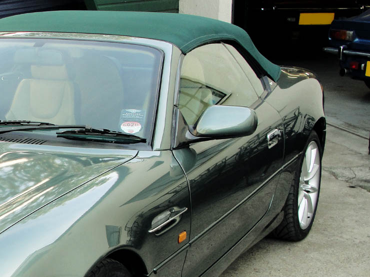 An Aston Martin Db7 Investment Isn T All About Romance