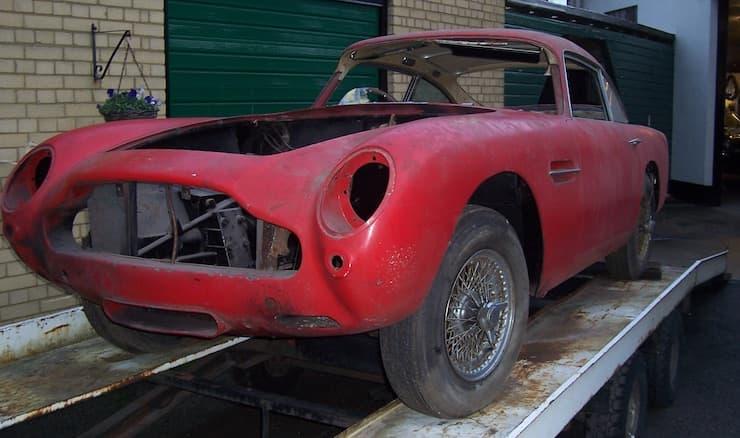 A Typical Aston Martin Db5 Restoration Project