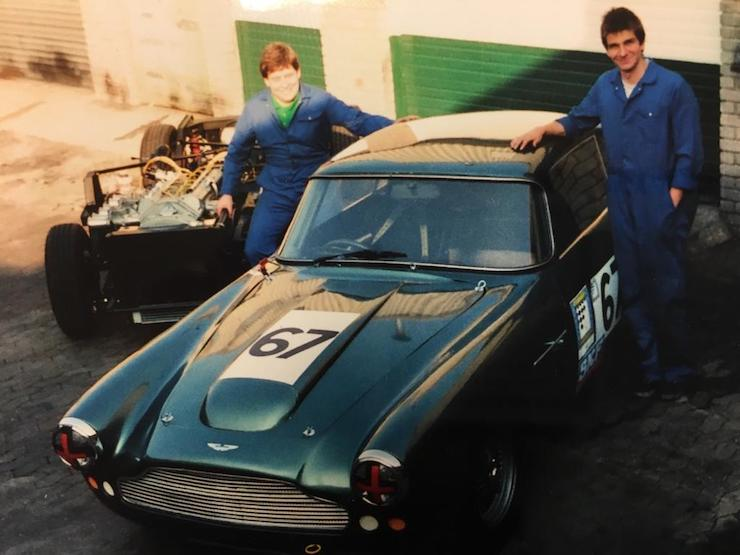 zagato chassis and db 4 tim and martin