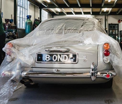 Aston Martin DB5 To A DB5 Vantage Conversion