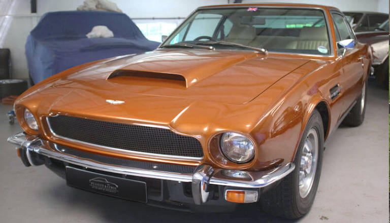 Aston Martin V8 With Extensive History